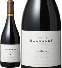 ピノ・ノワール レゼルバ 2015 ドメーヌ・ブスケ 赤  Pinot Noire Reserve / Domaine Bousquet  スピード出荷
