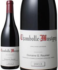シャンボール・ミュジニー 2013 ジョルジュ・ルーミエ 赤  Chambolle Musigny 2013 / Domaine Comte Georges de Vogue  スピード出荷