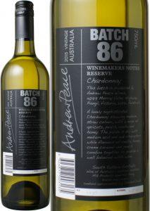ワインメーカーズ・ノート レセルヴ シャルドネ アンドリュー・ピース 白 Winemakers Notes Chardonnay Reserve