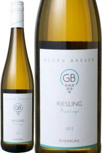 リースリング トロッケン ソヴァージュ 2018 ゲオルグ・ブロイヤー 白  Riesling Sauvage / Georg Breuer