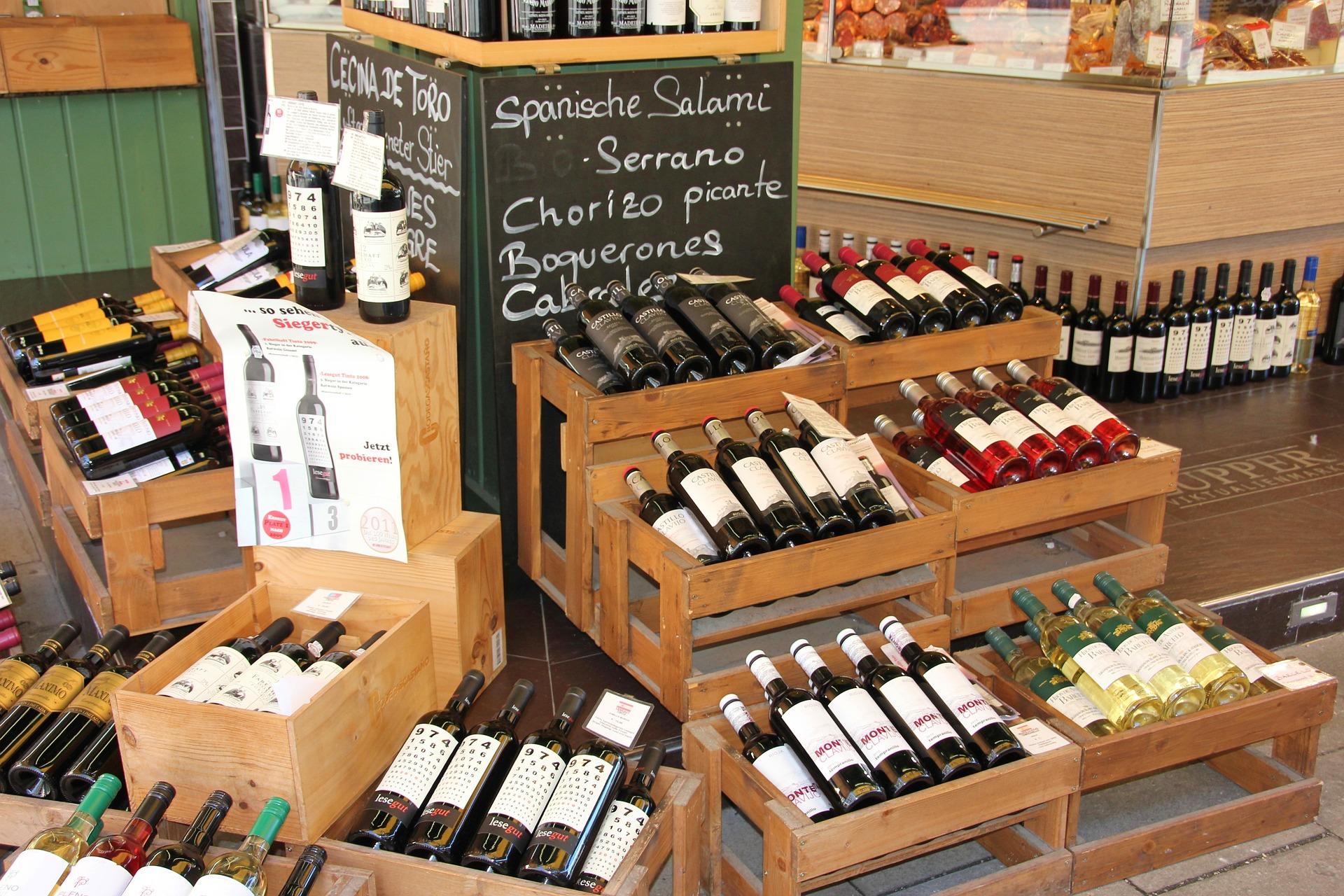 ワイン売り場