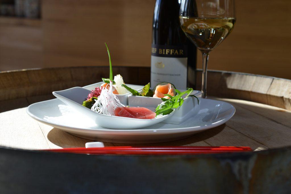 日本食とワイン