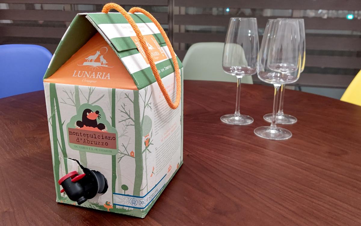 ルナーリアが箱ワインに革命を起こす。前代未聞のコスパに、ソムリエたちも驚いた!