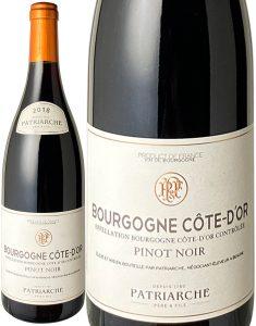 ブルゴーニュ コート・ドール ピノ・ノワール パトリアッシュ・ペール・エ・フィス 赤 Bourgogne Cote D'Or Pinot Noir / Patriarche