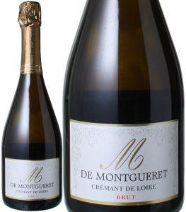 クレマン・ド・ロワール キュヴェ・エム・ド・モンゲレ ブリュット NV シャトー・ド・モンゲレ 白 <br>Cremant de Loire Cuvee M de Montgueret / Chateau de Montgueret